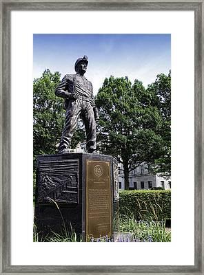 The West Virginia Coal Miner Framed Print