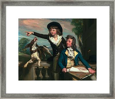 The Western Brothers, 1783 Framed Print by John Singleton Copley