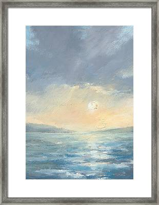 The Western Solent Part Eight Framed Print by Alan Daysh