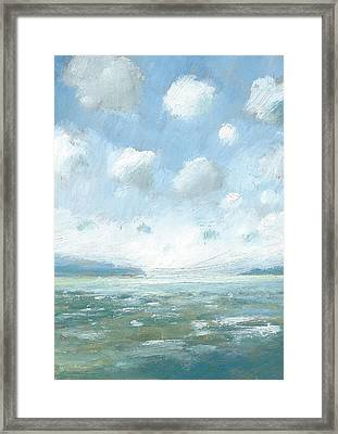 The Western Solent Part One Framed Print by Alan Daysh