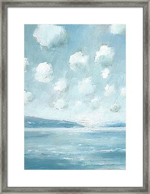 The Western Solent Part Six Framed Print by Alan Daysh