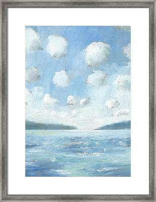The Western Solent Part Two Framed Print by Alan Daysh