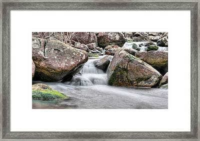 The Wet Framed Print by JC Findley