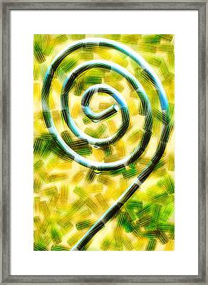 The Wet Whirl  Framed Print by Steve Taylor