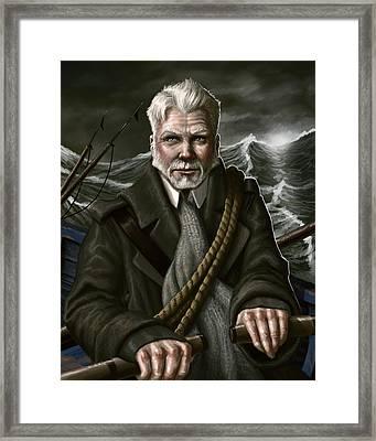 The Whaler Framed Print by Mark Zelmer