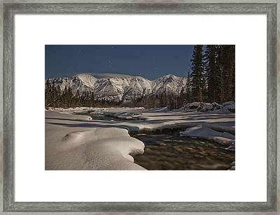 The Wheaton River Valley Lit By The Framed Print by Robert Postma