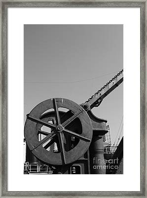 Framed Print featuring the photograph The Wheel by Maja Sokolowska