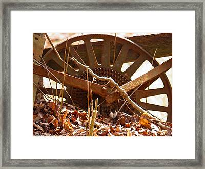 Framed Print featuring the photograph The Wheel Of Planting by Nick Kirby