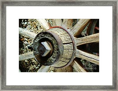 The Wheels Don't Go 'round  Framed Print