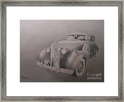 The Wheels Of Time Framed Print