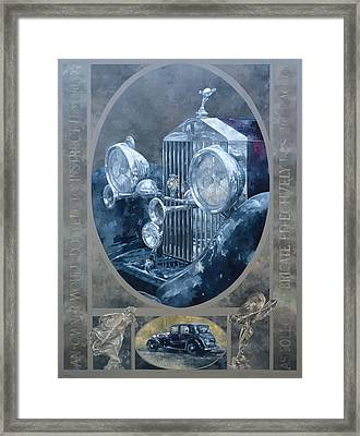 The Whisper And The Spirit  Framed Print