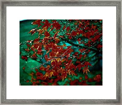 The Whispering Leaves Of Autumn Framed Print