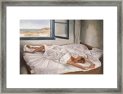 The Whispering Sea  Framed Print