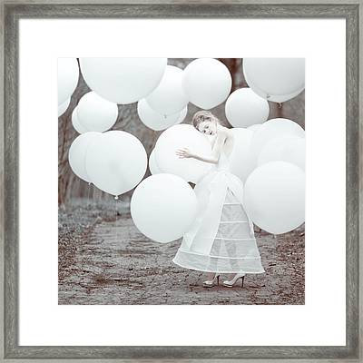 The White Dream Framed Print by Anka Zhuravleva