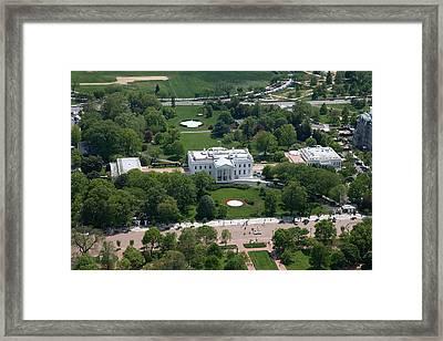 The White House Framed Print by Carol Highsmith