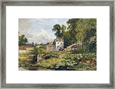The White House Framed Print by William James Muller