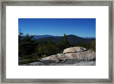 The White Mountains Framed Print by Steven Valkenberg