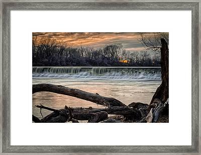 The White River Framed Print