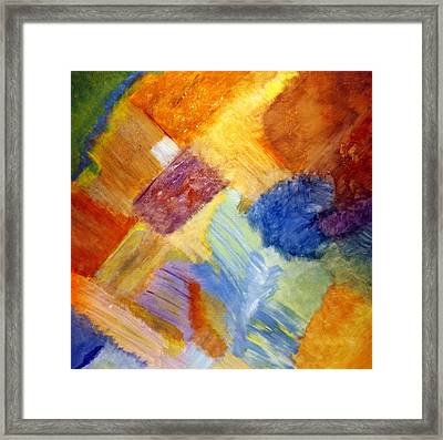 The White Square Framed Print by Karyn Robinson