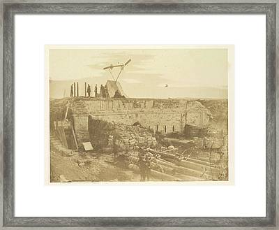 The White Tower In The Malakoff Framed Print