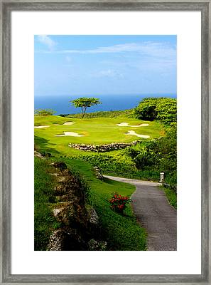 The White Witch Montego Bay Framed Print by Tom Prendergast