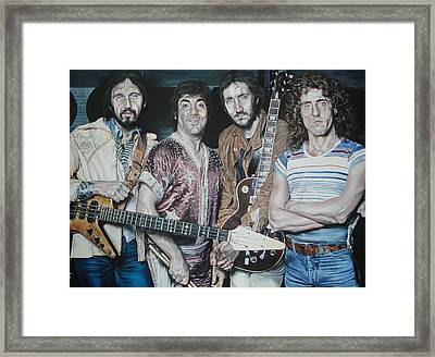 The Who-ligans Framed Print