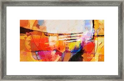 The Whole World Is Invited Framed Print by Lutz Baar