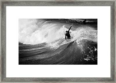 The Wicked Sea  Framed Print by Laura Fasulo