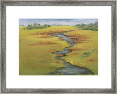 The Wicken Fen Framed Print