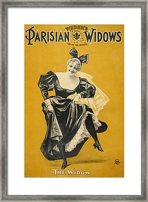 The Widow Framed Print by Aged Pixel