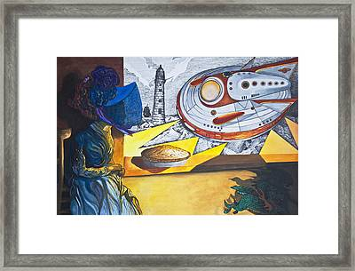 The Widow's Lament Framed Print by Larry Butterworth