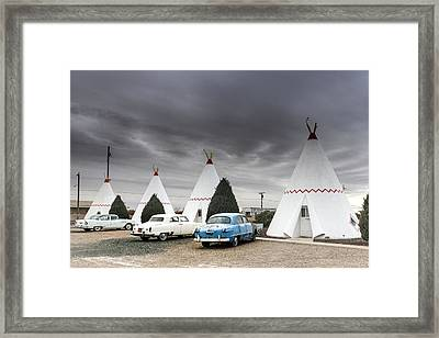 The Wigwam Motel In Holbrook Framed Print