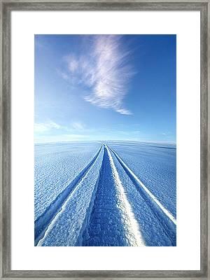 The Wild Blue Yonder Framed Print