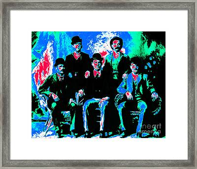 The Wild Bunch 20130212m135 Framed Print by Wingsdomain Art and Photography