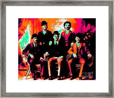 The Wild Bunch 20130212p38 Framed Print by Wingsdomain Art and Photography