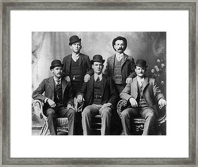 The Wild Bunch Gang Framed Print by Underwood Archives