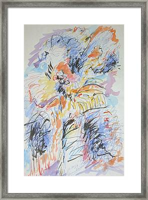 The Wild Flower Framed Print by Esther Newman-Cohen
