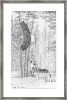 The Wild Framed Print