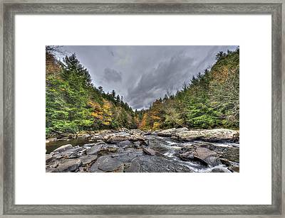 The Wild River Framed Print