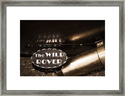 The Wild Rover Framed Print