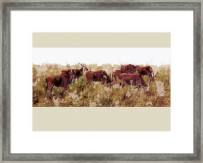 The Wilds Framed Print by Ron Jones