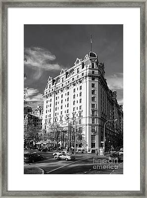 The Willard Hotel Framed Print by Olivier Le Queinec
