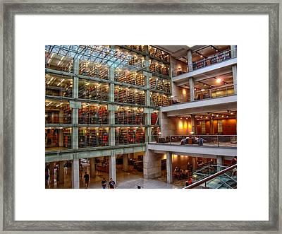 The William Oxley Thompson Memorial Library Framed Print