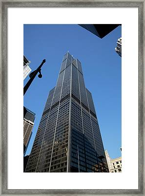 The Willis Tower Framed Print by Jim West