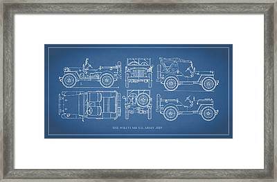 The Willys Jeep Framed Print by Mark Rogan