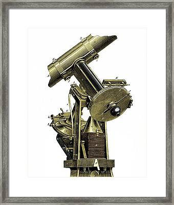 The Wilna Photo-heliograph Framed Print by Sheila Terry
