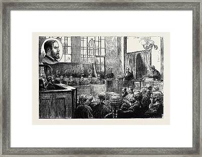 The Wimbledon Poisoning Case Trial Of Dr Framed Print