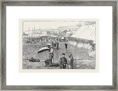 The Wimbledon Prize Meeting, The Lords And Commons Match Framed Print