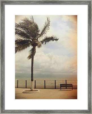 The Wind In My Hair Framed Print