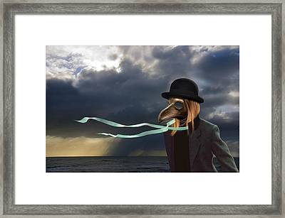 The Wind Has Changed Framed Print by Craig Carl